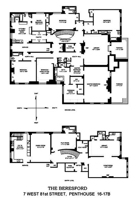 manhattan apartment floor plans 110 best manhattan penthouse floor plans images on