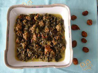 ricette persiane khoresh con spinaci e prugne khoresh aloo esfenaj