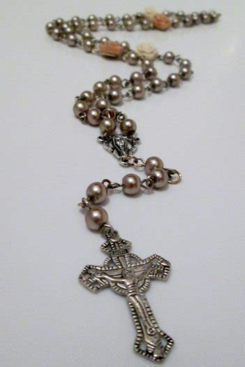 goldie brown flower rosary beads for sale in edenderry offaly from lendan