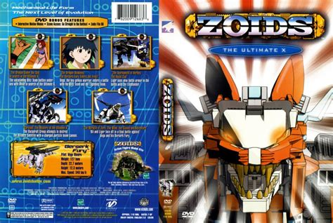 film zoid zoids volume 6 the ultimate x movie dvd scanned covers