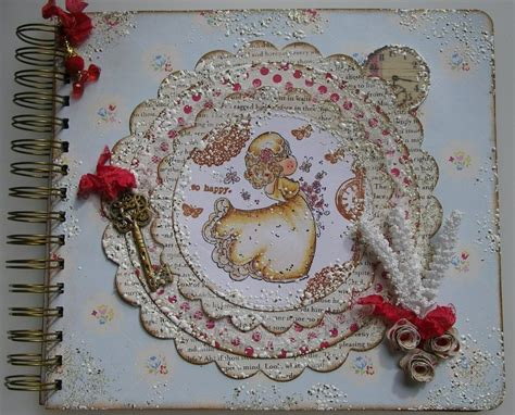 Handmade Wedding Scrapbook - ooak handmade scrapbook photo albums