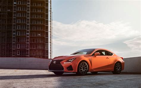 2015 Lexus Rc F Orange Wallpaper Hd Car Wallpapers