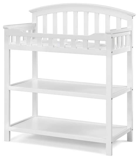 Graco Changing Table White Graco 00524 361 Arlington Change Table White Changing Tables By Peazz