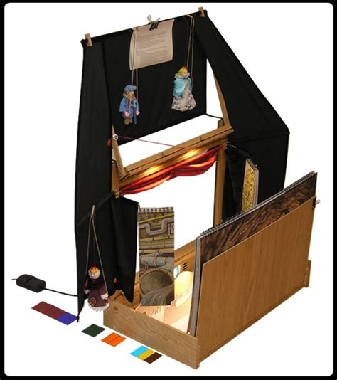 layout view in marionette portable wooden puppet theater to buy online size 47