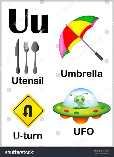 Words Letter U printables letter u word for preschool gozoneguide