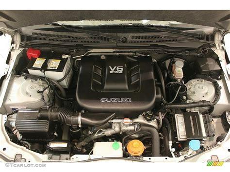 Suzuki Vitara V6 Engine 2007 Suzuki Grand Vitara Luxury 4x4 2 7 Liter Dohc 24