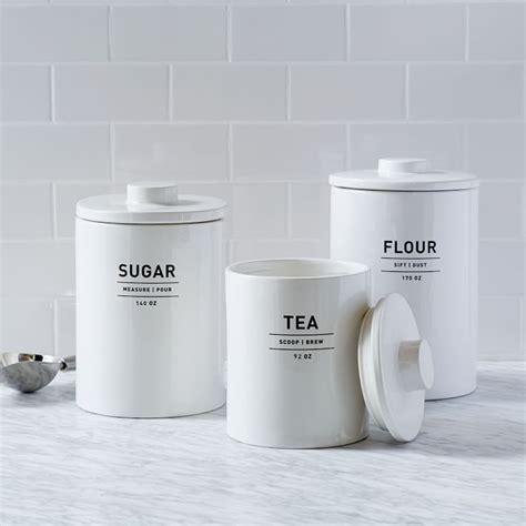 canisters glamorous flour sugar tea canisters cool flour