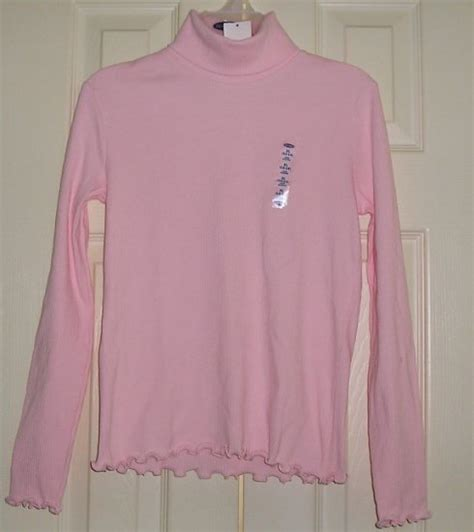 cute teenager beseoom ls sale old navy pink girls teens ls t neck top cute
