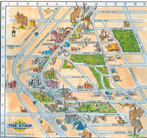 map of las vegas las vegas map map of las vegas