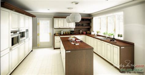 Online Kitchen Design Software modern classic kitchen by paul resty malaluan 3d artist