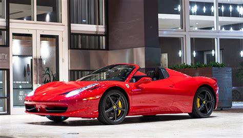 Ferrari 458 Spider Miami Luxury Exotic Car Rentals & Yacht Rentals