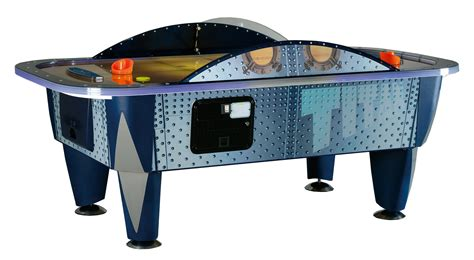 commercial air hockey table yukon titan 8 foot commercial air hockey table liberty