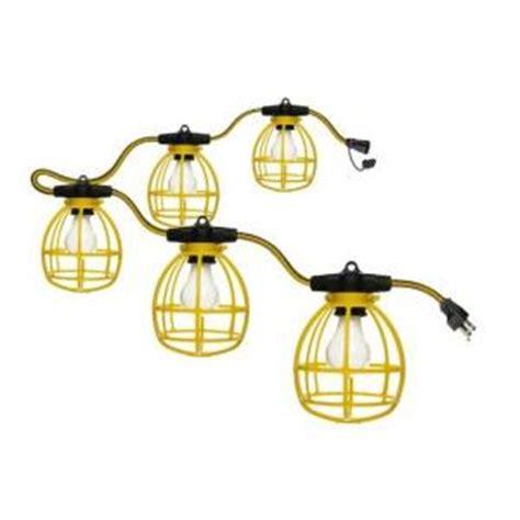 designers edge 50 ft incandescent string work lights e401