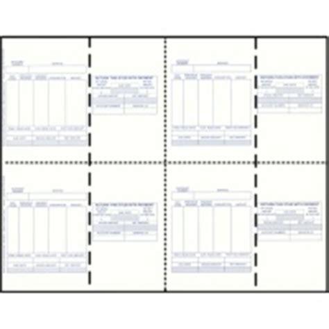 Preprinted Blank Utility Bills Blank Postcard Stock Blank Postcard Paper Blank Utility Bill Template