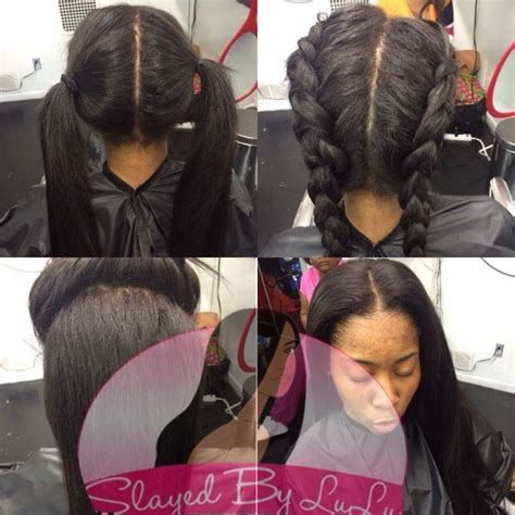 short vixen sew in 4 part vixen sew in with short hair