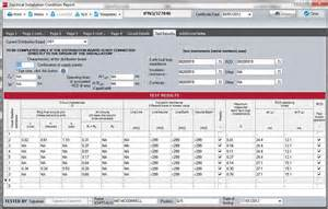 Electrical Installation Test Certificate Template by Niceic Direct Part P Building Regulations Power Tools