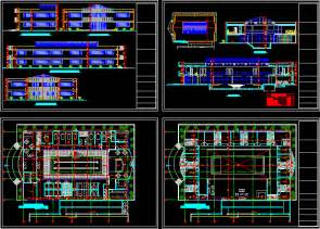 Commercial Building Floor Plans Free luxurious spa 2d dwg design section for autocad designscad