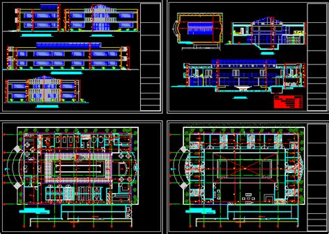 Luxurious Spa 2D DWG Design Section for AutoCAD ? Designs CAD