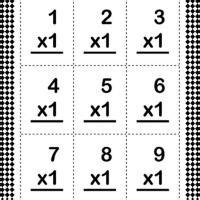 multiplication flash card template the starting line sorry republicans being to