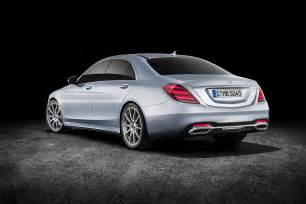 Mercedes Benze 2018 Mercedes S Class Look Review Motor Trend