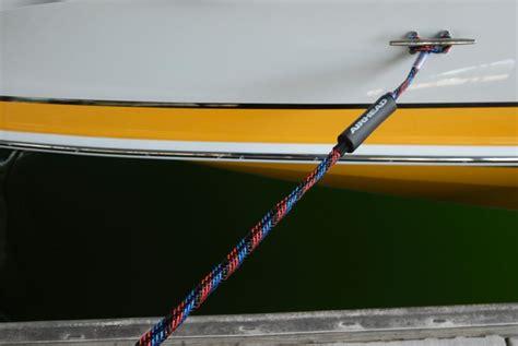 boat dock rope swing pdb tested bungee dock line pontoon deck boat magazine