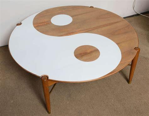 Yin Yang Coffee Table Yin And Yang Mid Century Modern Walnut Swedish Coffee Table At 1stdibs