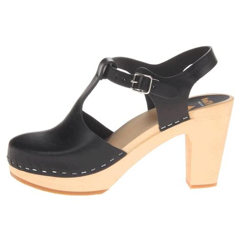 best clogs for swedish hasbeens women s t sky high clogs mules