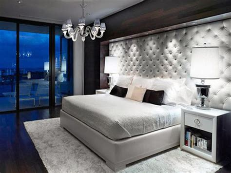 modern glam bedroom modern glam bedroom tufted headboard home inspiration