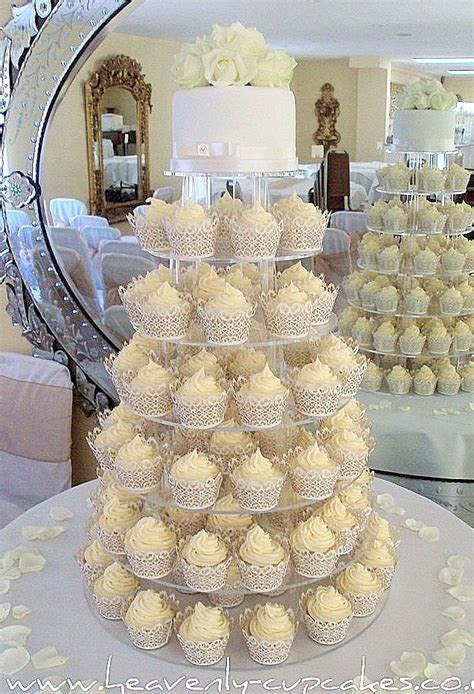 Cup Cake Wedding Cake by Heavenly Cupcakes Wedding Cakes In Nottingham