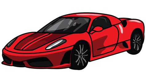 ferrari drawing how to draw ferrari 360 a sports car easy step by step