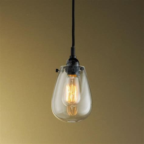 Teardrop Pendant Light Teardrop Glass Pendant Light