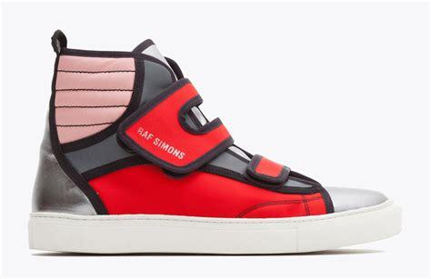raf simons classic velcro sneakersraf simons classic velcro sneakers wait fashion
