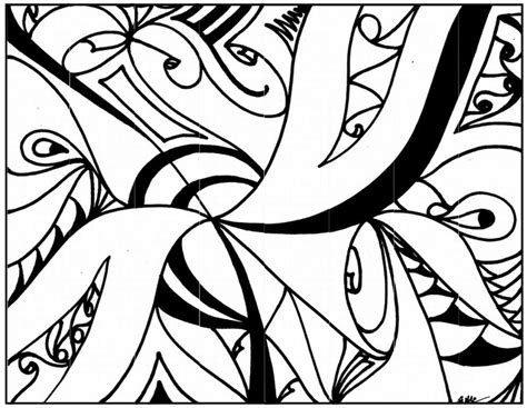 abstract coloring pages for adults and artists abstract coloring page az coloring pages