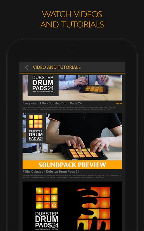download tutorial drum pads 24 dubstep drum pads 24 android apps on google play