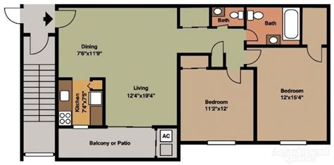 cool apartment floor plans floor plan 2 bedroom house philippines archives new home plans design