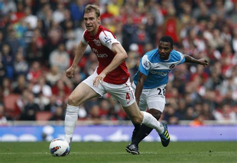 arsenal defenders arsenal defender feeling comfortable at emirates