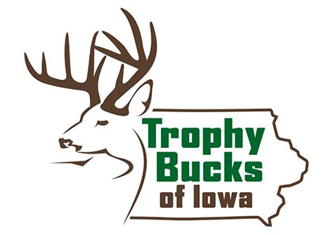 company with a buck in the logo iowa whitetail buck logo design custom