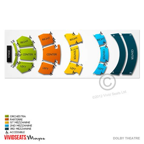 dolby theater seating chart dolby theatre tickets dolby theatre seating chart