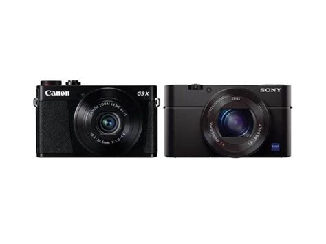 Len G9 by Canon G9 X Vs Sony Rx100 Iii Specifications Comparison