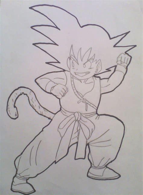 Drawing Goku by How To Draw Goku