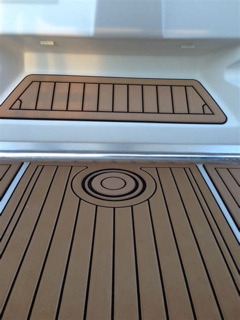Custom Boat Mats by Custom Helm Pads Marine Mat The Hull Boating And Fishing Forum