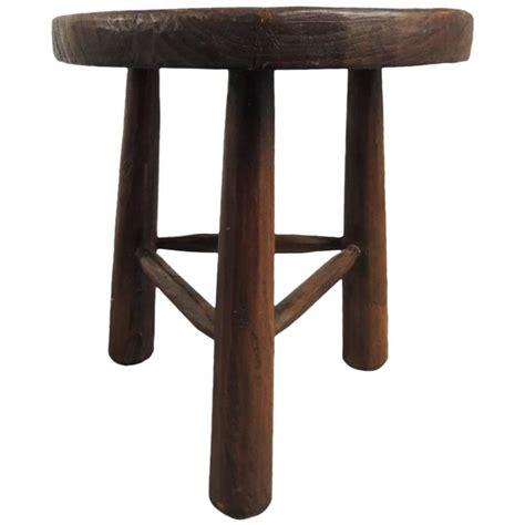 vintage wood tripod three legged stool at 1stdibs