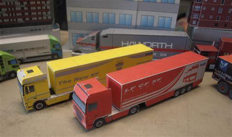 paper truck paper craft truck gallery craft decoration ideas