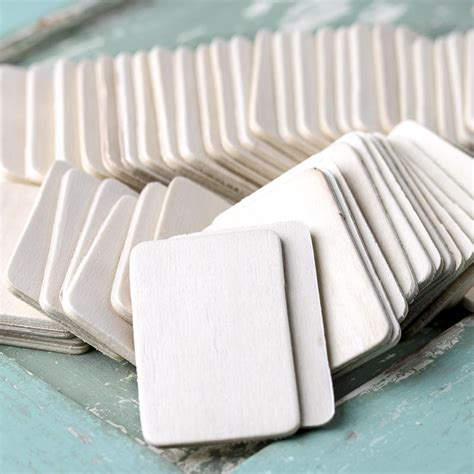 woodwork craft supplies unfinished wood rectangle cutouts wood cutouts