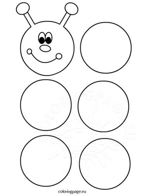 hungry caterpillar templates free coloring page
