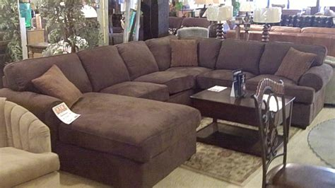 Dark Brown Velvet Sectional Couch Which Furnished With Sectional Sofas With Chaise Lounge