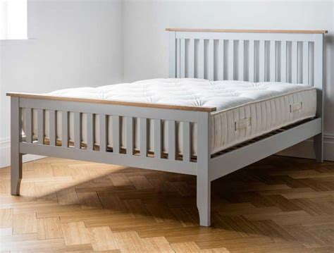 painted beds dreamworks banbury acacia grey painted bed frame buy