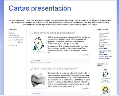 Modelo Curriculum Vitae Con Carta De Presentacion Modelo De Carta De Presentaci 243 N De Una Empresa Ejemplos De