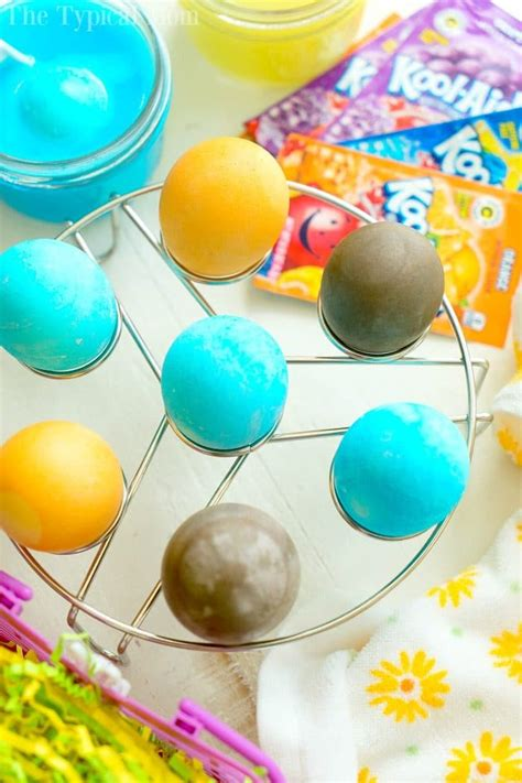 coloring eggs with kool aid how to dye eggs with kool aid 183 the typical