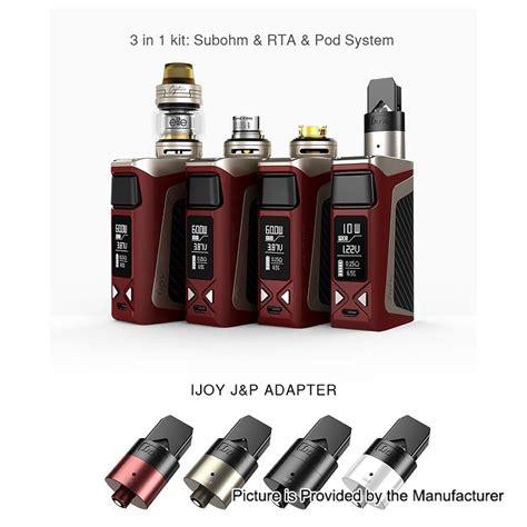 Authentic Ijoy Rdta Mod authentic ijoy elite mini kit w black rdta box mini mod